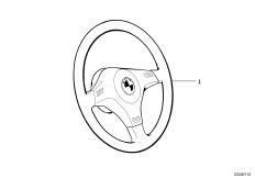 Спортивное рулевое колесо II кожа