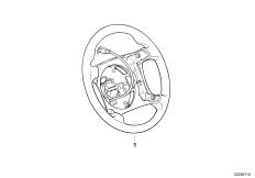 Обод рулевого колеса I M кожа