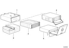 Блок для кассет