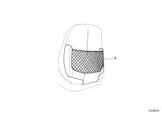 Доосн.карманом для сетки спинки сиденья