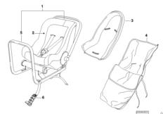 Детское сиденье BMW Baby Seat 0
