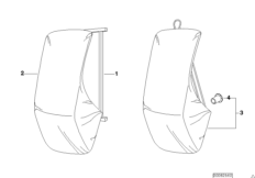 Кронштейн жесткой крыши/настенный монтаж