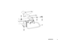 Детали лобовой защитной дуги прицепа