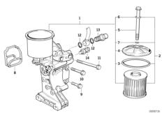 Смазочная система-масляный фильтр