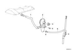 Система вентиляц.картера/маслоотделитель