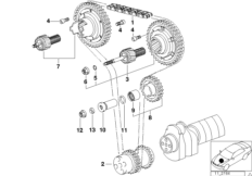 Приводная цепь механ.газораспределения