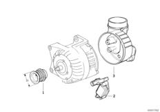 Детали генератора на 105 А