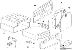 DME, крышка и элементы крепления