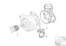 Детали генератора на 115 А