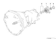 S6S 420G Детали блока шестерен