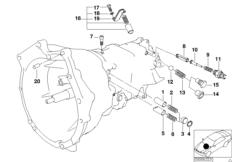 S6S 420G Внутрен.детали механизма ПП