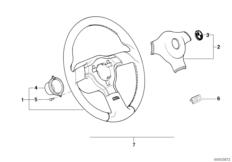 Спортивное рулевое колесо M Technic