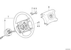 Рулевое колесо M Technic с НПБ