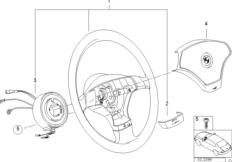 Cпортивное рулевое колесо c НПБ 2