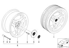 Дизайн с 3 спицами (диз. 38)