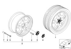 Дизайн со сдвоенными спицами (диз. 30)