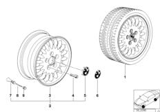 Дизайн со спортивными спицами (диз.13)