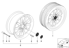 Дизайн со спортивными спицами II(диз.27)