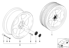 Дизайн с круглыми спицами (диз. 18)