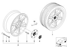 Дизайн со звездообр.спицами II (диз.10)