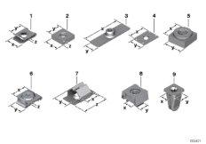 Механические соединительные элементы