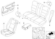 Мерный товар индив.отделка ткань Boa-Boa