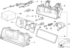 Детали фары Bosch