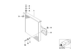 Конденсатор кондиционера и доп.элементы