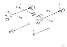 Переходный провод радиоприемника