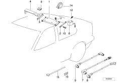 отдельные детали чейнджера CD-6