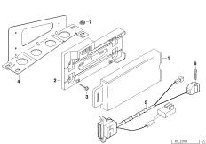Детали телефона в багажном отделении