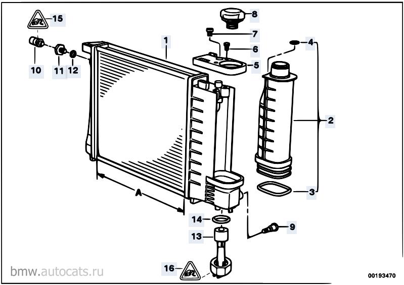 Система охлаждения бмв е36