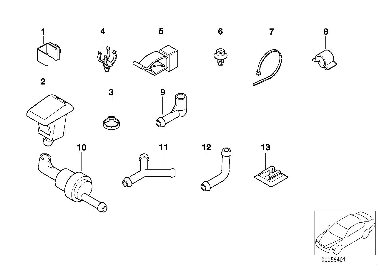 схема предохранителей на бмв 3 1991 года 318i