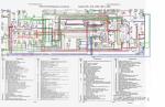 Заводские цвета и расположение проводов