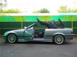 бмв 3 кабриолет - срезаем крышу автомобиля (поверхностно)